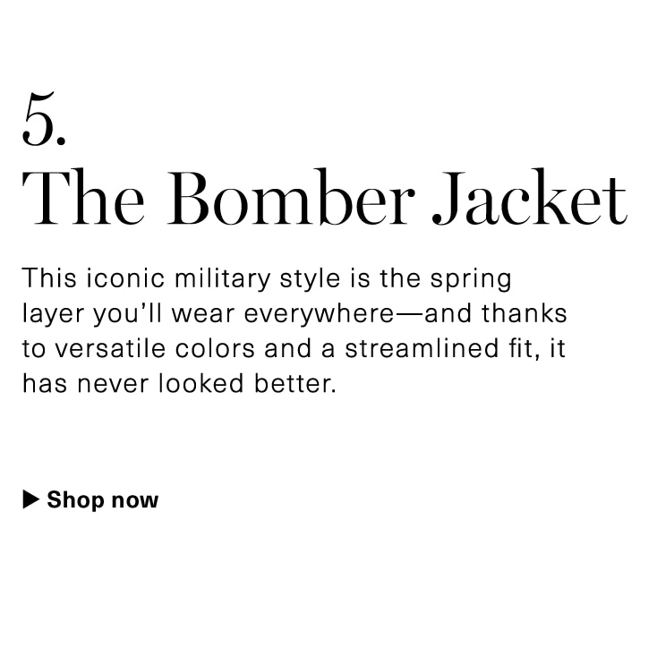 Military Style Bomber Jackets