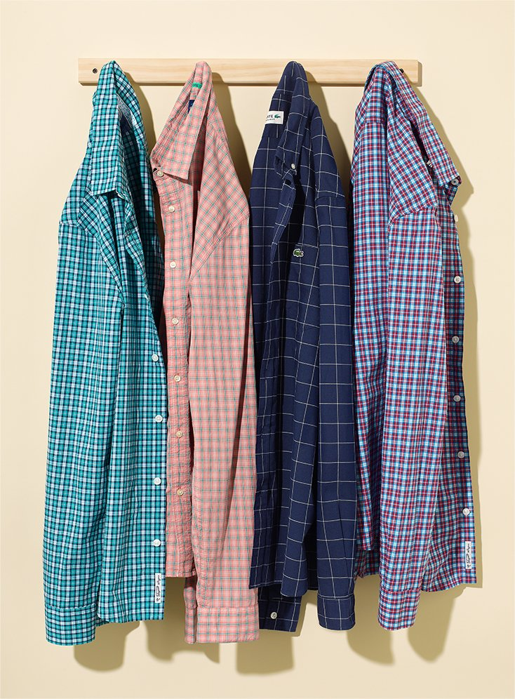 Spring 2017 Plaid Shirts for Men on Amazon