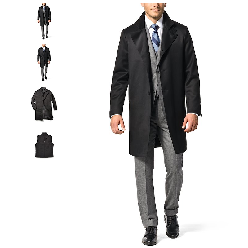 Best Black Overcoat for Men