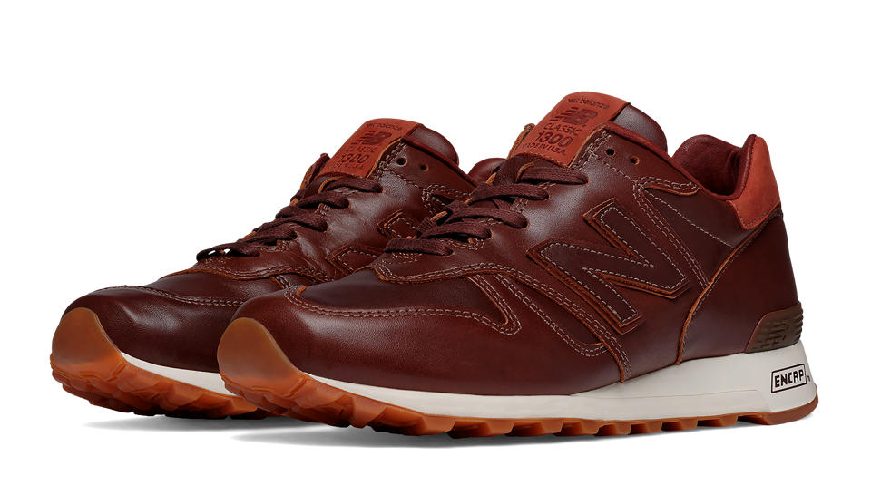 New Balance 1300 with Horween Leather