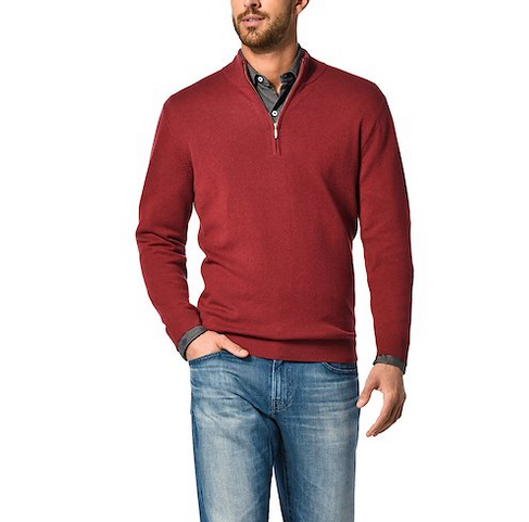 100% 12gg Cashmere Sweater for Men