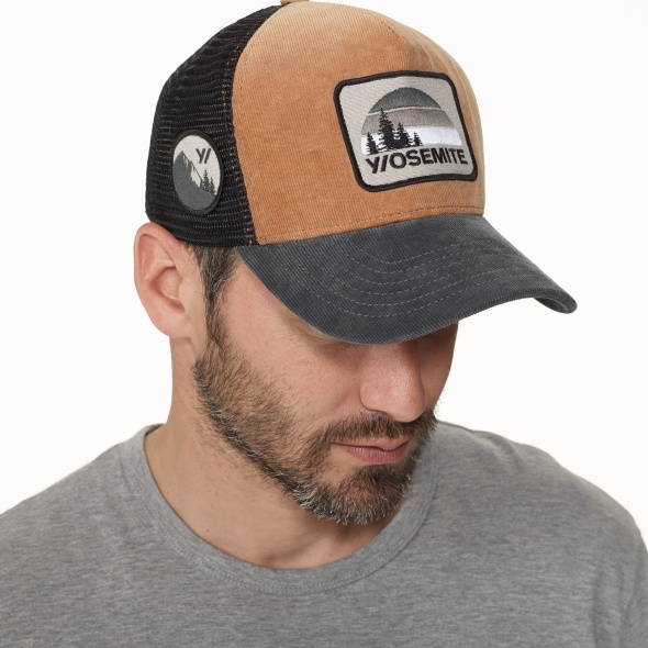 James Perse Double Face Knit Trucker Hat