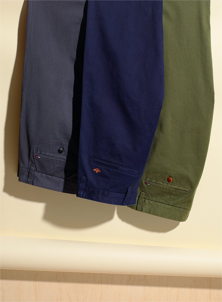 Men's Colored Chinos 2017