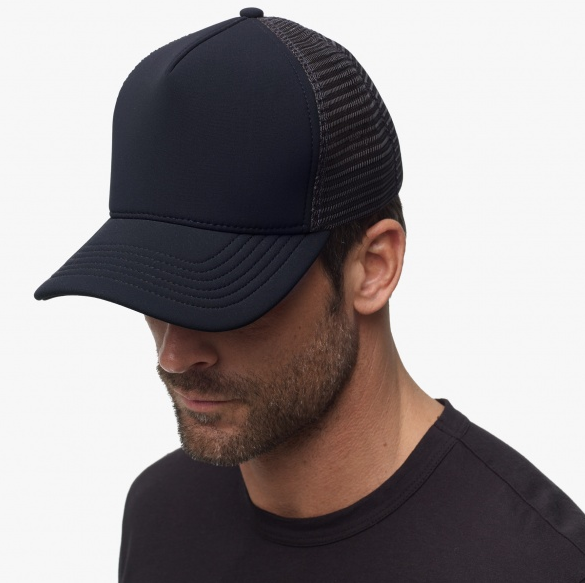 Navy Blue Scuba Trucker Hat