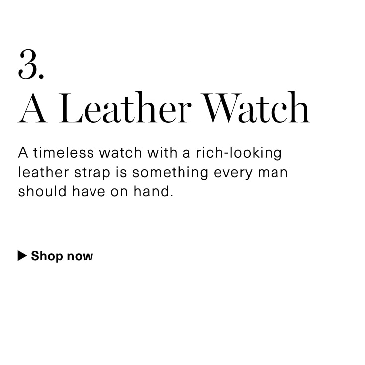 Amazon Best Mens Leather Watches